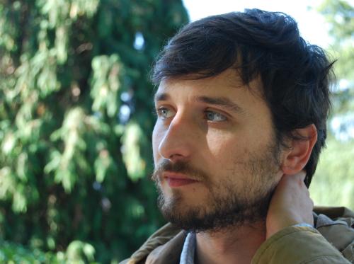 Felipe, en un momento de la entrevista, ya en Vigo/Foto: Natalia Fernández