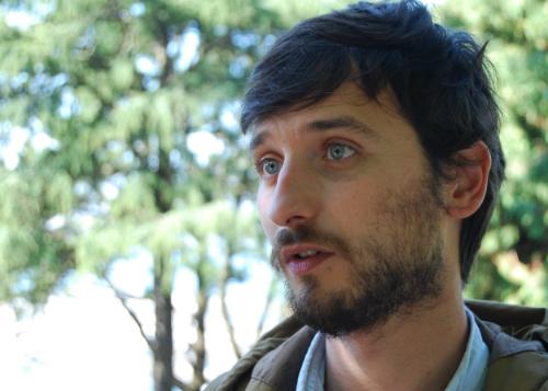 Felipe Carnotto, fue detenido por la policía serbia acusado de entrar ilegalmente en el país desde Macedonia/Foto: Natalia Fernández