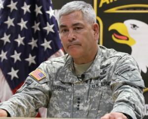 El general estadounidense John Campbell