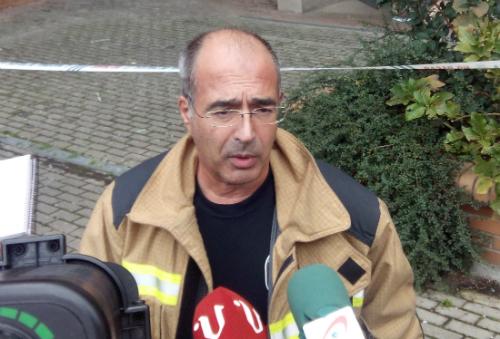 El suboficial de los Bomberos de Vigo Jesús Rodríguez