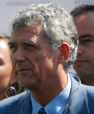 Ángel María Villar, en la inauguración del Campo de Coia, en Vigo, hace unas semanas/Tresyuno Comunicación