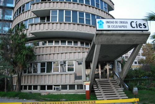 El hospital Cíes, este jueves/Tresyuno Comunicación
