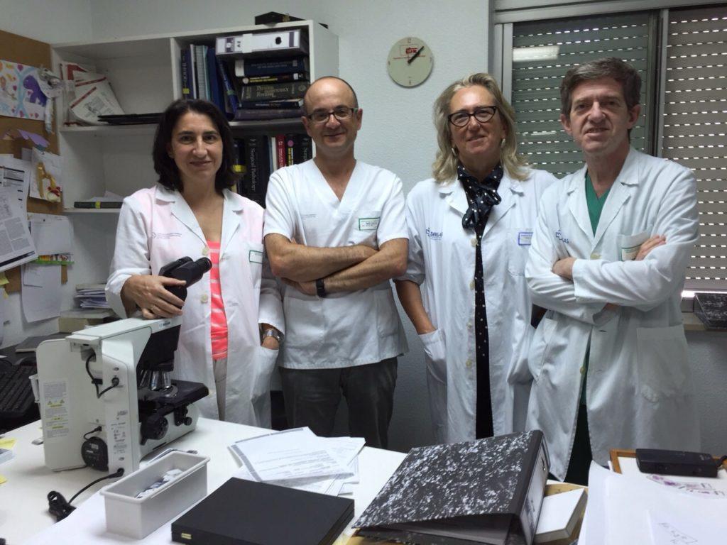 Equipo estudio cancer vexigauros e patologos 2