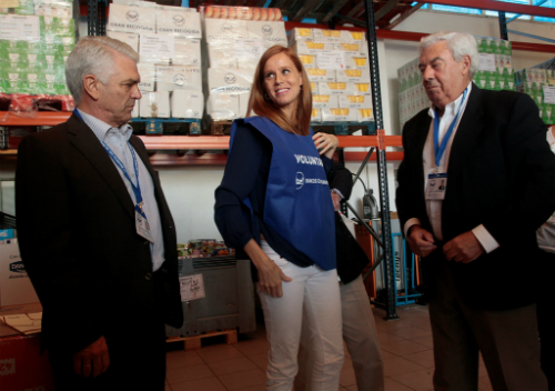 María Castro embajadora Banco Alimentos Vigo (autor Felipe Carnotto)