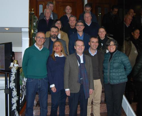 Los alcaldes y alcaldesas reunidos este sábado en Vigo, reunión en la que también estuvo la presidenta de la Diputación/Tresyuno Comunicación