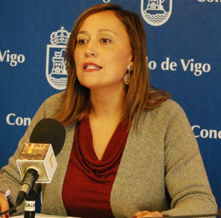 Elena Muñoz, portavoz del PP en el Concello/Tresyuno Comunicación