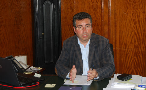 Javier Bas, alcalde de Redondela