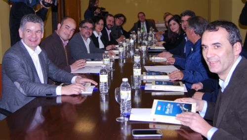 Os alcaldes e alcaldesas, este mércores en Vigo/Tresyuno Comunicación