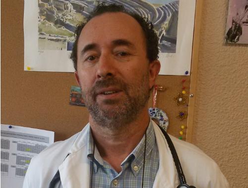 Doutor Javier García Vega, xefe da Unidade de Paliativos
