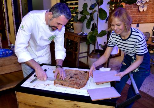 El cocinero Pepe Solla en su casa de comidas Atlántico en Madrid/Fotografía:vigoalminuto.com