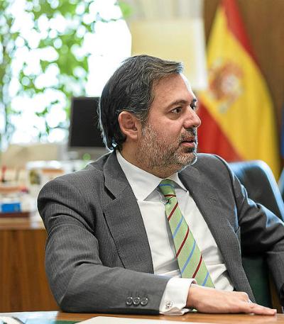 Federico Ramos, subsecretario de Presidencia del Gobierno