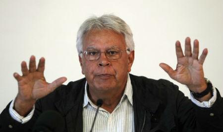 Felipe González, ex presidente del Gobierno