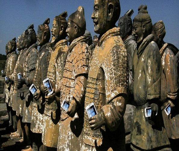 Gallegos en China