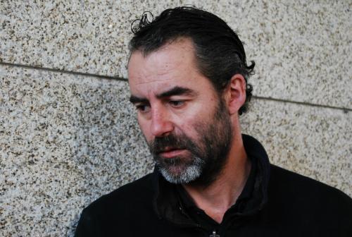 Israel Sangiao, uno de los afectados, cuya familia vive con apenas 500 € al mes/Tresyuno Comunicación