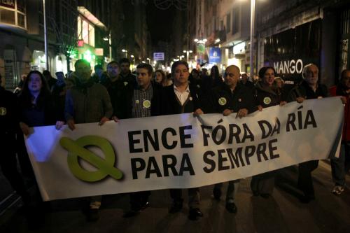 Manifestación Ence1
