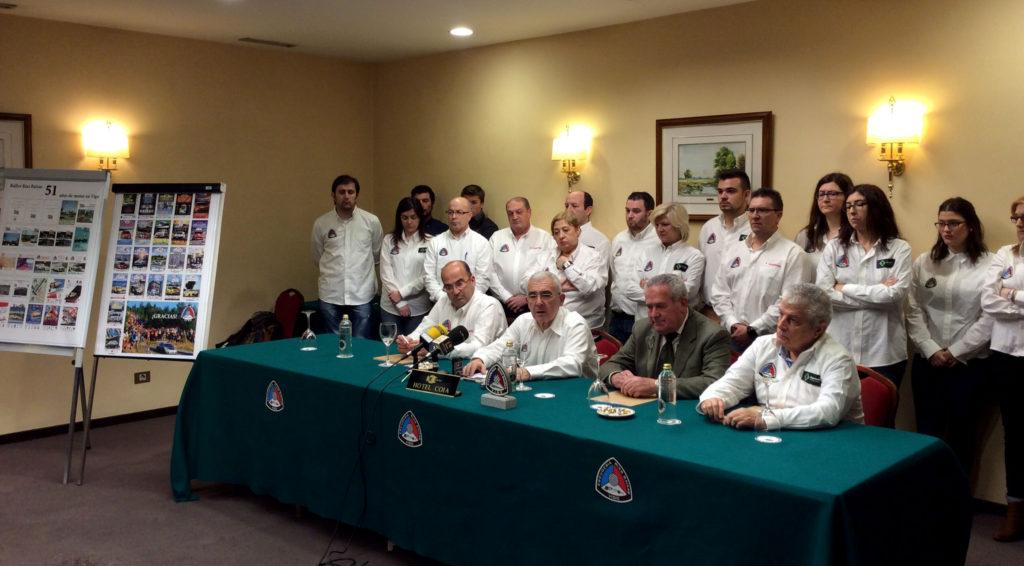 Rueda de prensa de despedida del Rallye Rías Baixas