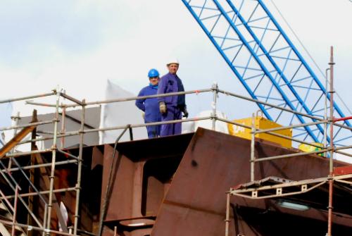 O ano pasado aumentou o número de traballadores activos en Galicia/Foto:vigoalminuto.com