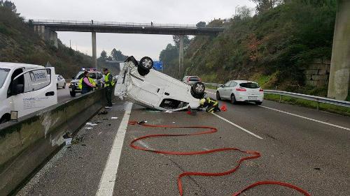 Accidente A55 2