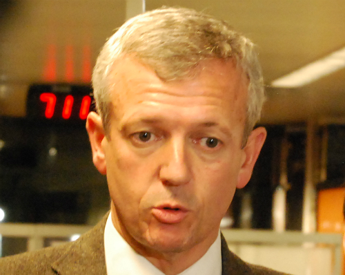 EL vicepresidente del Gobierno de Galicia, Alfonso Rueda/Foto:vigoalminuto.com