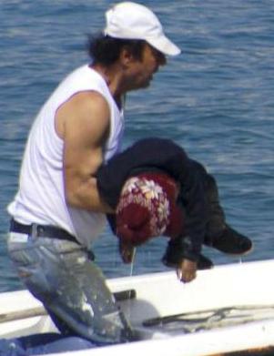 Bebé ahogado en el Egeo