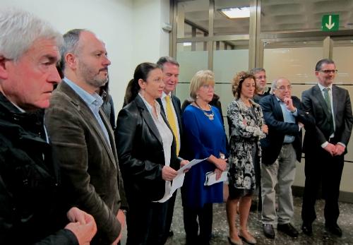 O goberno local de Vigo, hoxe