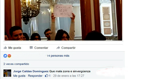 Insultos Carmela Silva