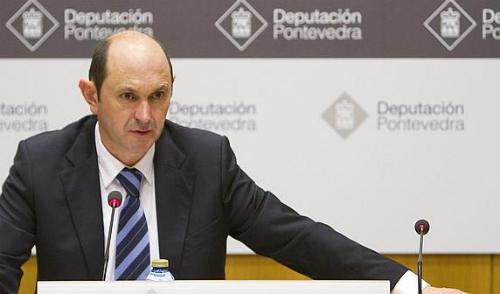 Louzan en su etapa de presidente de la Diputación (Archivo)