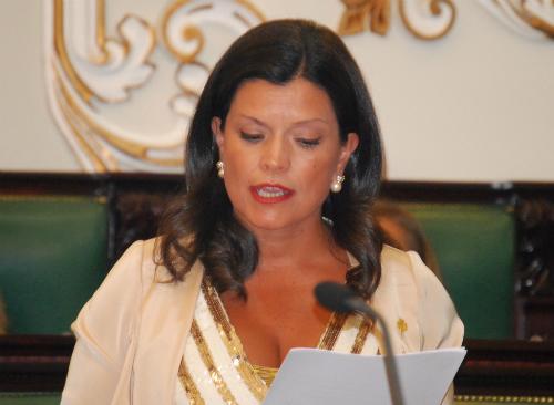 Nidia Arévalo, alcaldesa de Mos e voceira do Partido Popular na Deputación de Pontevedra/Foto:vigoalminuto.com