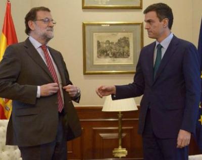 Reunión Rajoy Sánchez