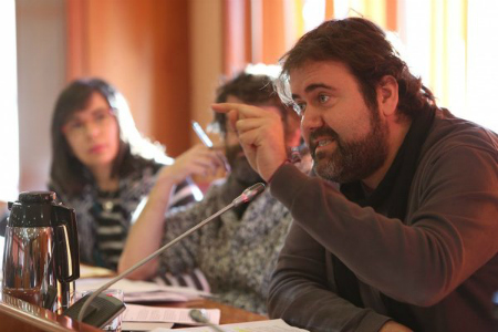 Rubén Pérez voceiro municipal de Marea de Vigo