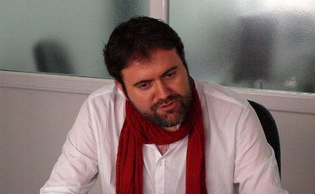 Rubén Pérez, voceiro municipal da Marea (ARQUIVO)/Foto:vigoalminuto.com