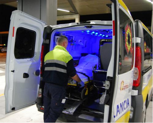 Traslado en ambulancia/Foto:vigoalminuto.com