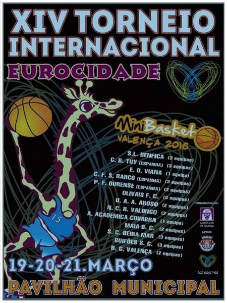 16032016 Torneo Baloncesto Eurocidade