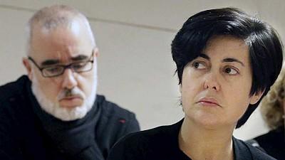 Alfonso Basterra y Rosario Porto, asesinos de Asunta