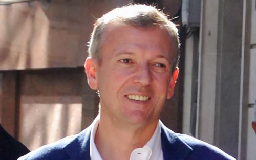 Alfonso Rueda, nuevo presidente del PP de Pontevedra