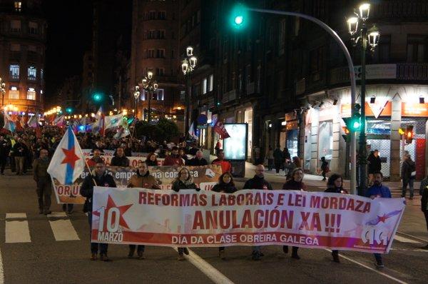 Manifestación CIG