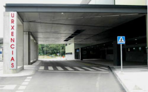 Entrada de Urgencias del Cunqueiro/Foto:vigoalminuto.com
