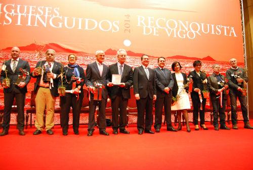 Acto de Vigueses Distinguidos (Archivo)/Foto:vigoalminuto.com