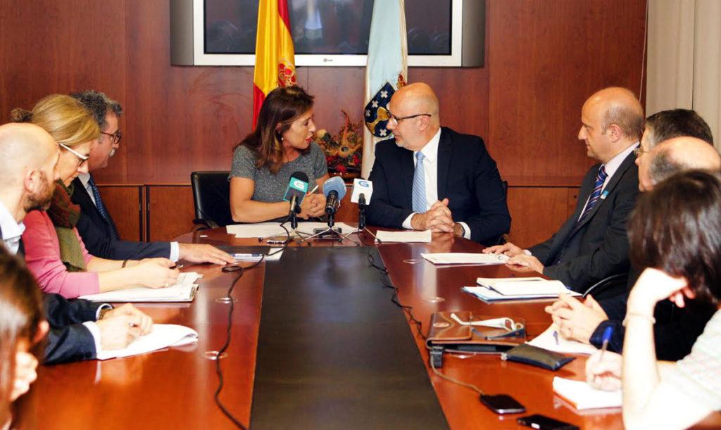 A conselleira de Medio Ambiente e Ordenación do Territorio, Beatriz Mato, presidirá a reunión de constitución da Comisión Mixta en materia de Meteoroloxía e Clima, na que tamén participa a Axencia Estatal de Meteoroloxía (Aemet), representada polo seu presidente, Miguel Ángel López González.