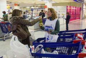 donación en Carrefour