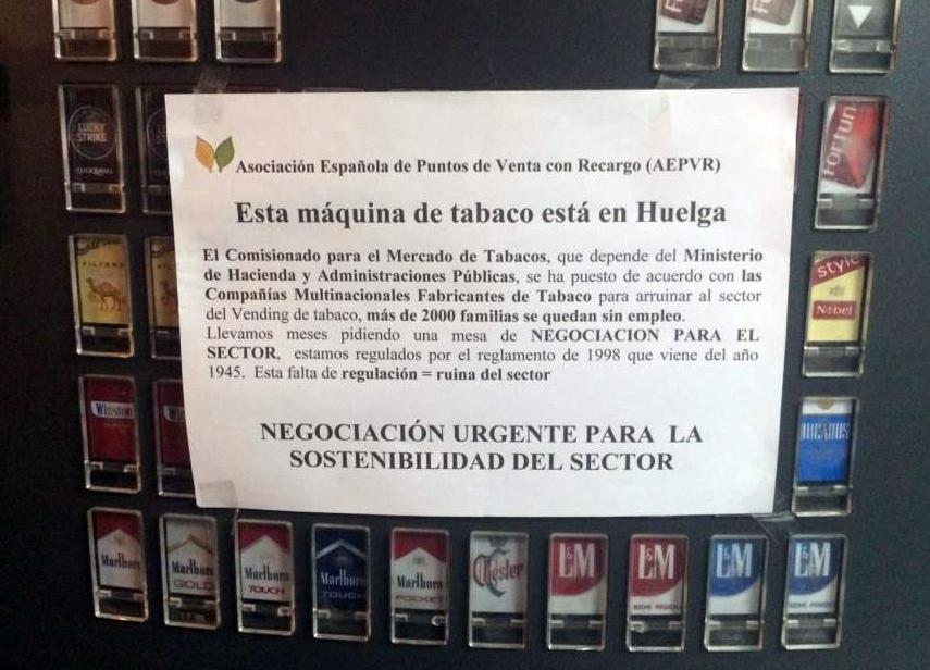 huelga tabaco