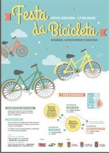 festa bicicleta cartel
