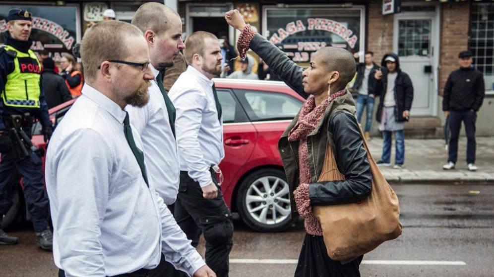 marcha neonazi