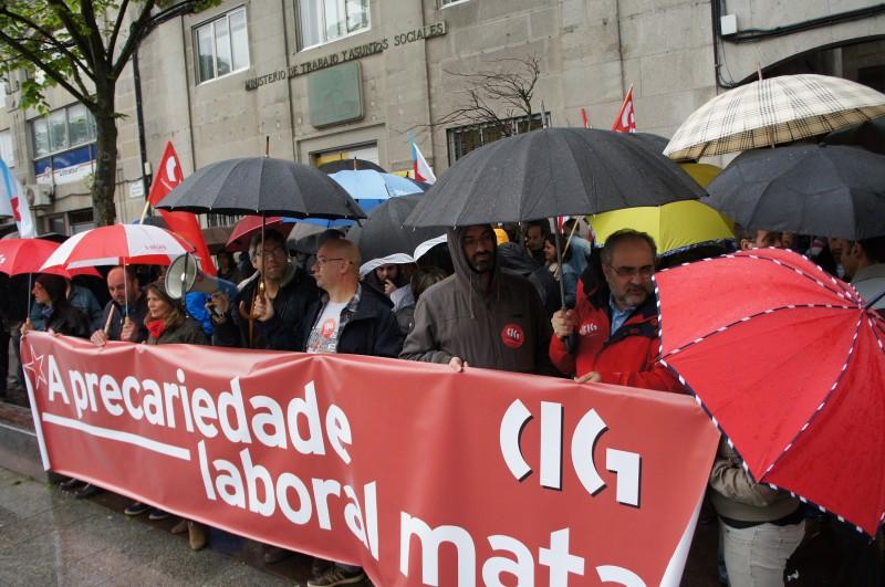 protesta precariedad laboral