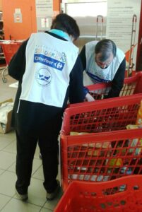 voluntarios Operación Kilo en Sanxenxo