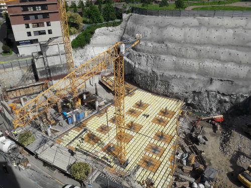 Las obras del nuevo Centro Comercial Pizarro/Foto:vigoalminuto.com