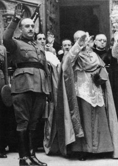 Franco y su aliada, la Iglesia Católica