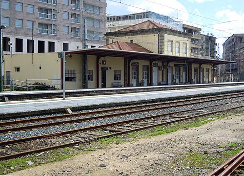 estacion tren porriño