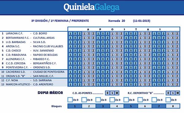 quiniela galega