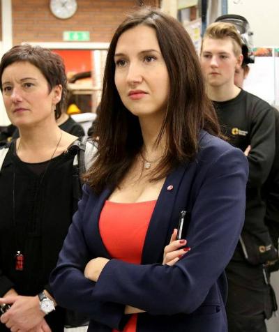 Aida Hadzialic era ministra de Educación Secundaria y para adultos